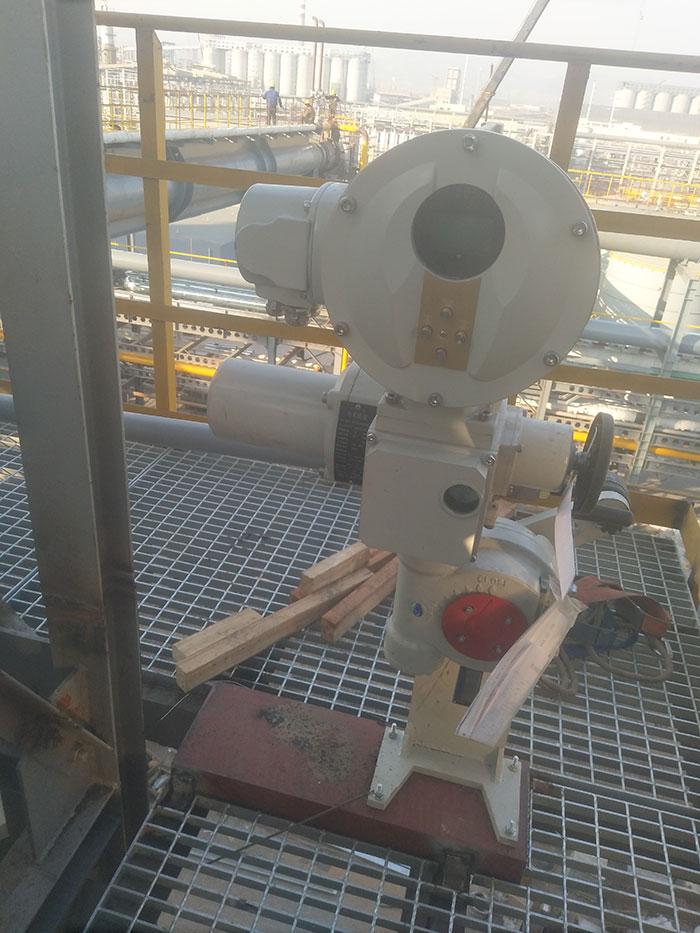 山西某脱硫项目-电动执行器LMP一S系列