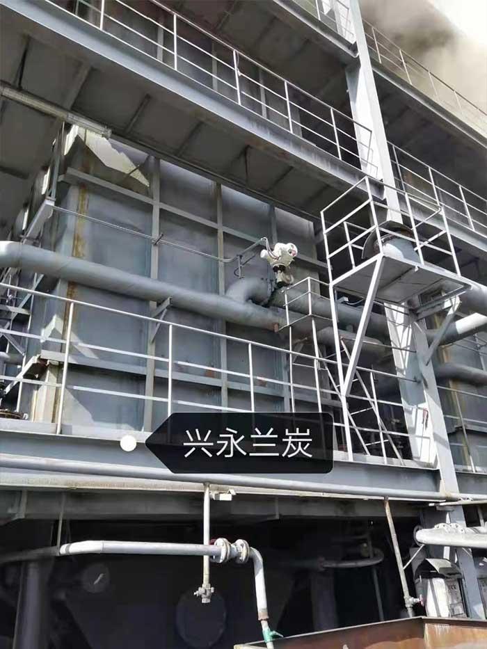 兴永兰炭电动执行器应用案例